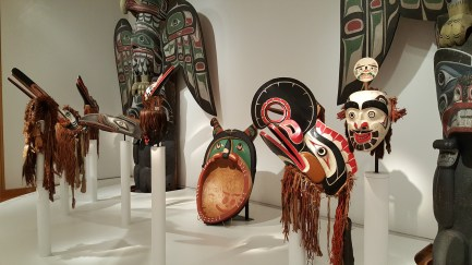 art of seattle masks at the Seattle Art Museum