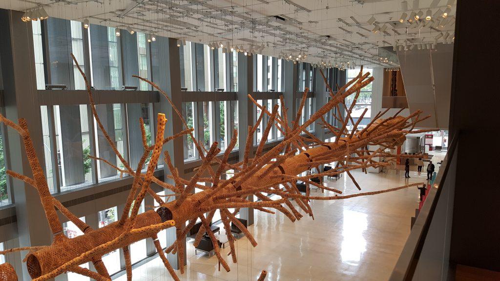 art of seattle seattle art museum lobby