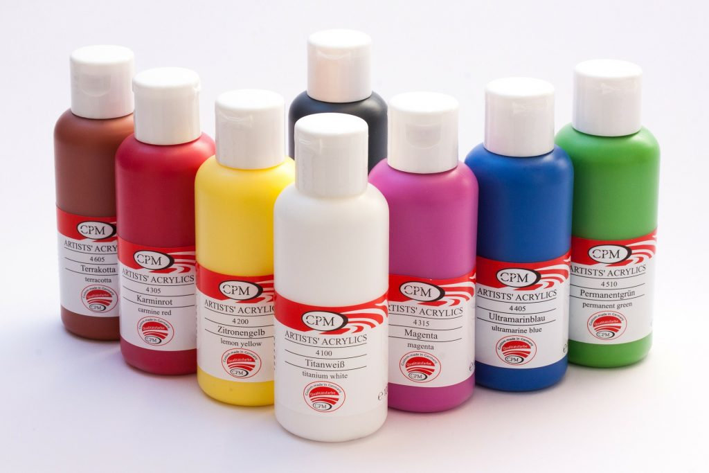 what is tempera paint acrylic