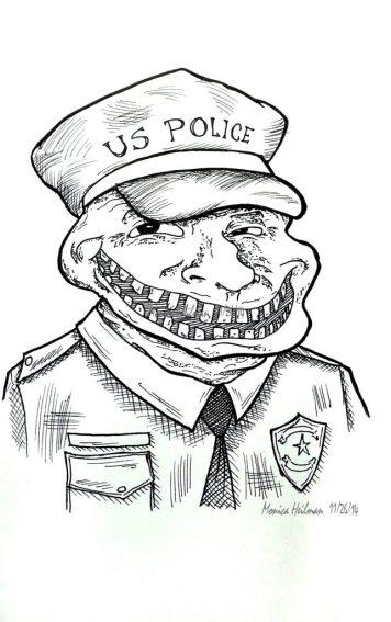 4th of July Ferguson_Police