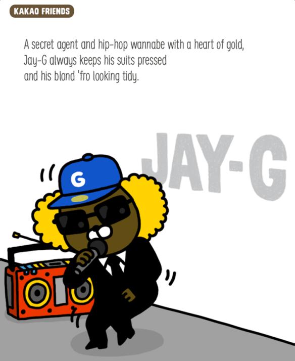 Kakao Friends Jay-G