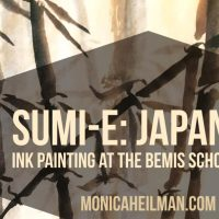 Sumi-e: Japanese Ink Painting at the Bemis School of Art