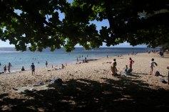 Ke'e Beach in Kauai.