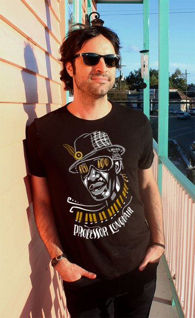 2500 MUSIC Til Ya Die Professor Longhair 100th Birthday Shirt