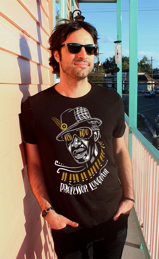 MUSIC Til Ya Die Professor Longhair 100th Birthday Shirt