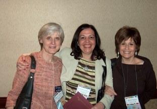 At NECFTL, 2009 with Dr. Margaret Ann Kassen (CUA) & Dr. Lavine (University of Maryland.)