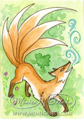 What does the Kitsune Says