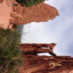 One of the trails through the Garden of the Gods park