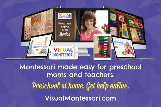 Visual Montessori™ - Preschool at Home and Get Help Online