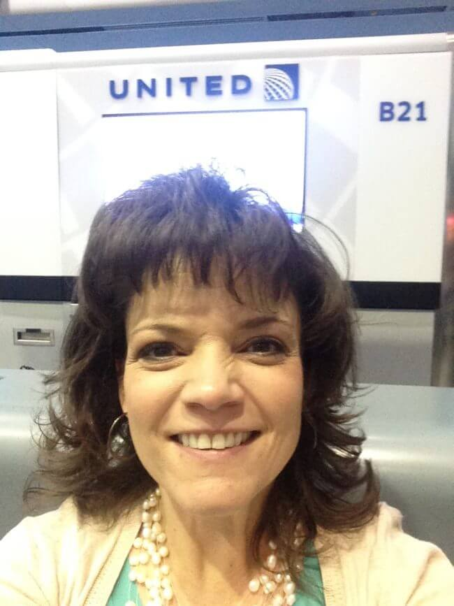 Boarding United Airlines for Hispanicize 2017 in Miami Florida