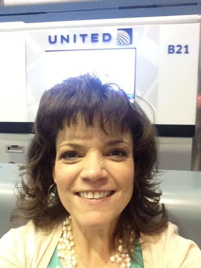 Boarding United Airlines for Hispanicize 2017 in Miami Florida