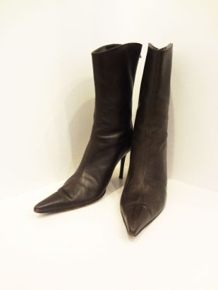 BCBG Brown Ankle Boots (Size 10) - $49
