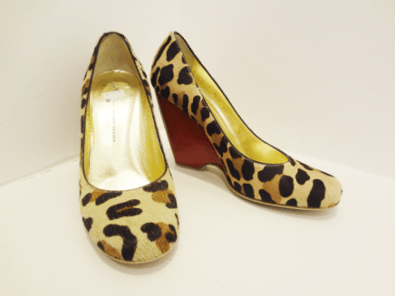 Giuseppe Animal Print Wedges - $249