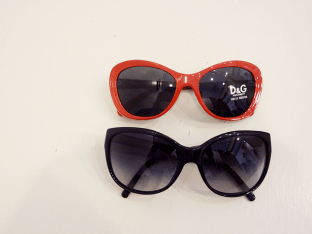 Dolce & Gabbana sunnies - $150(red) $180(black)