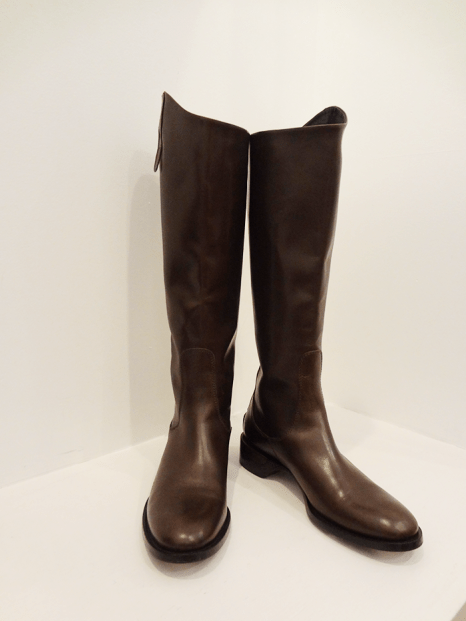 Giorgio Armani brown riding boots - $199 (Size 10)