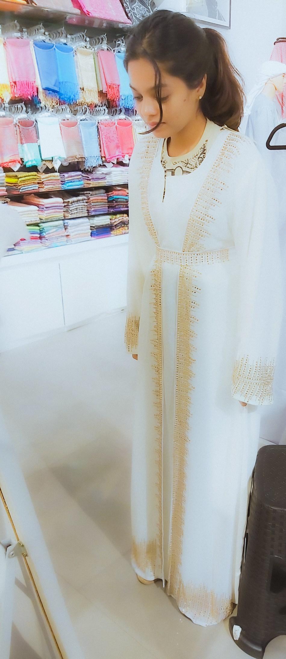 Shopping for an Abaya