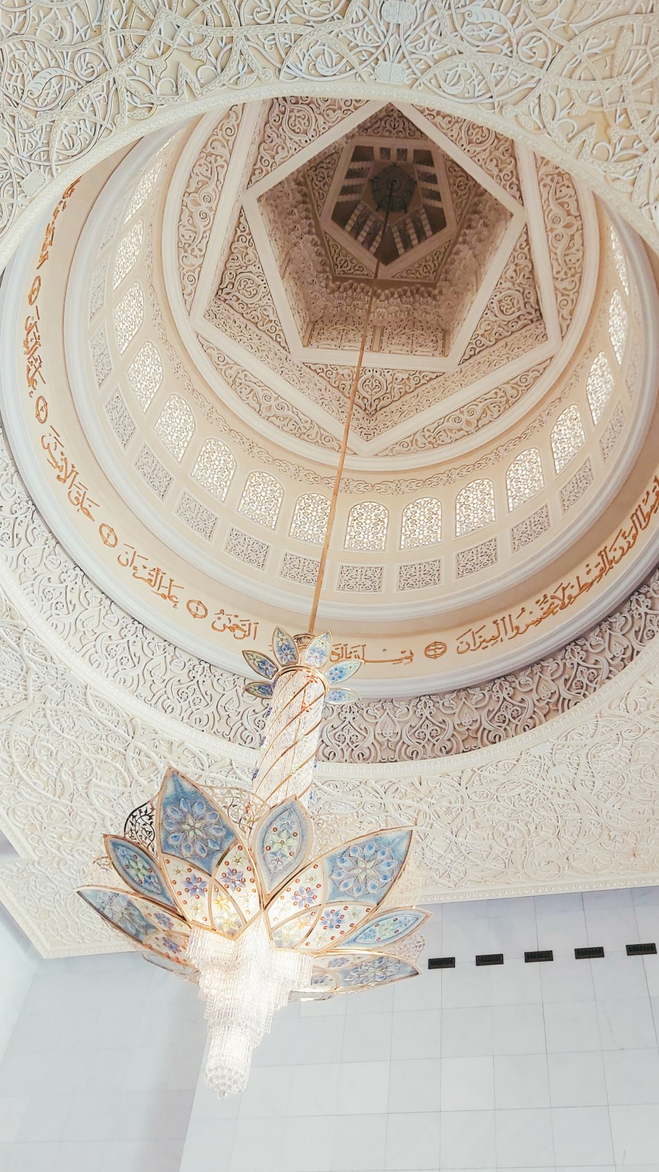 The Swarovski Chandeliers of Sheikh Zayed Grand Mosque