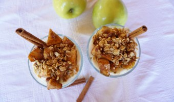 Sweet Cinnamon Apple Yogurt Parfaits