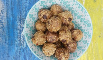 Cookie Dough Balls {inspired by Oh She Glows Everyday.}