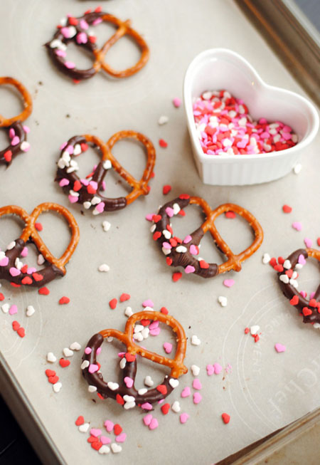 choc. covered pretzels