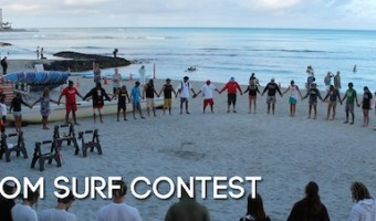 Freedom Surf Contest, Waikiki.  Join in the Fun.