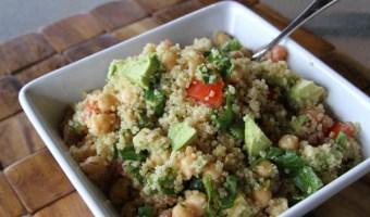 Quinoa, Chickpea, Avocado Salad…