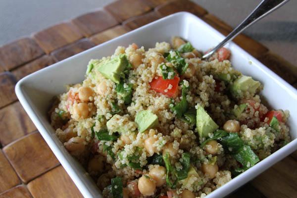 quinoa salad at thegrommom.com