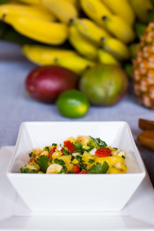 tropical mango salsa