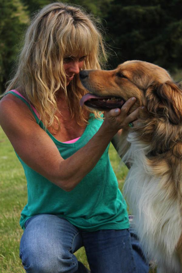 grommom and oscar dog