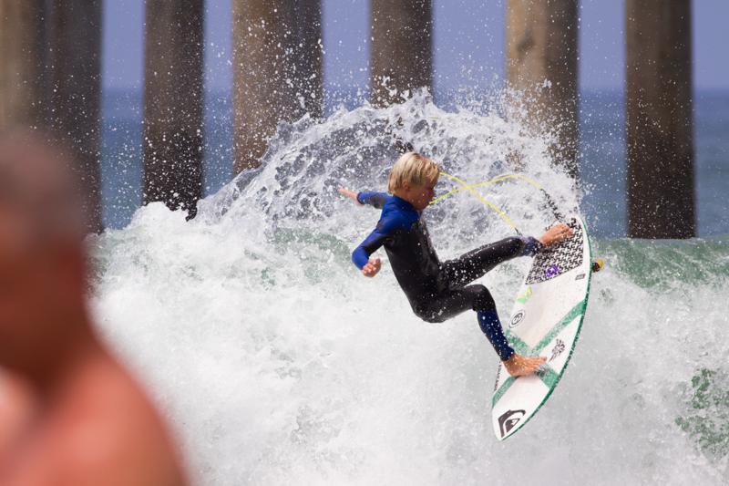 Luke Swanson surf Huntington Beach