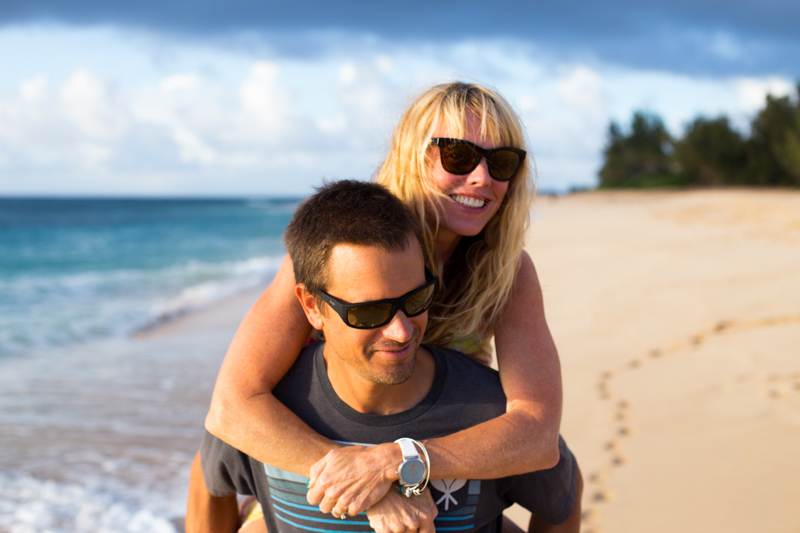 Dave and Monica Maui Jims