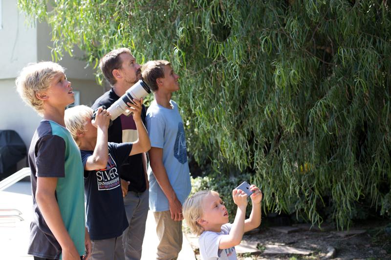 Swanson guys bird watching