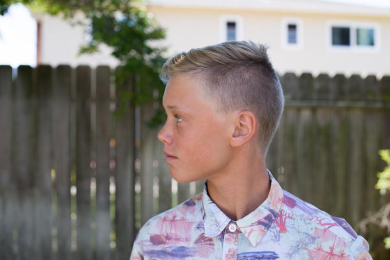Jonah haircut