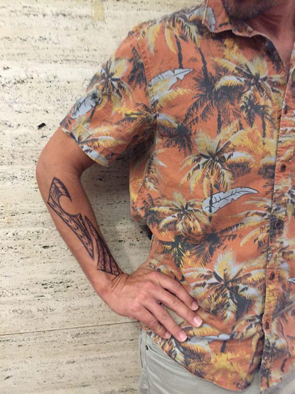 Dave Sharpie tatoo