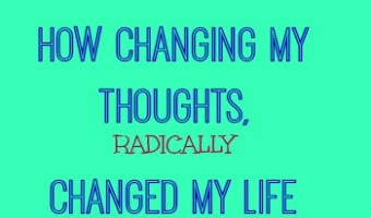 Diet and Body Image: How Changing my Thinking Changed my Life. Part II {a VLOG}