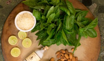 Basil Almond Pesto.