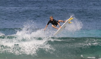 Luke's Best Week: Surf Contest Updates, and a Quiksilver Sponsorship
