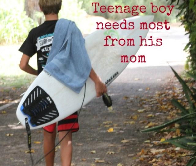 Teenage Boy Needs