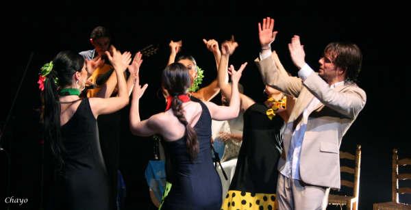 Cuadro Flamenco Mónica Tello