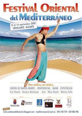 Festival Oriental del Mediterráneo Crevillente Alicante