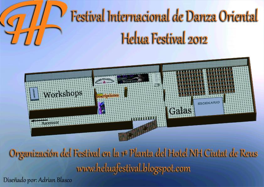 Organización Helua Festival en Reus