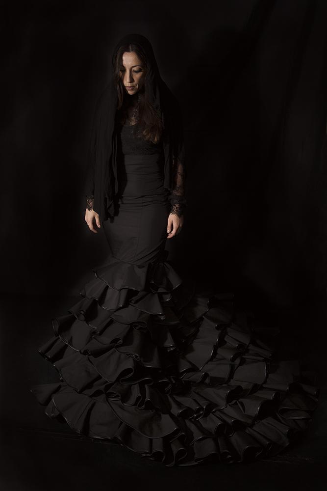 Mónica Tello como Bernarda Alba