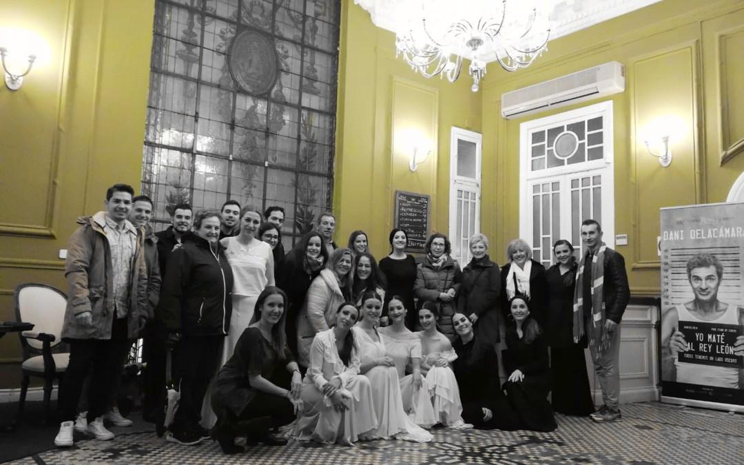 Encuentro con el público el 17 de Diciembre. La casa de Bernarda Alba en el Teatro Reina Victoria. Experiencia Teatral en Madrid