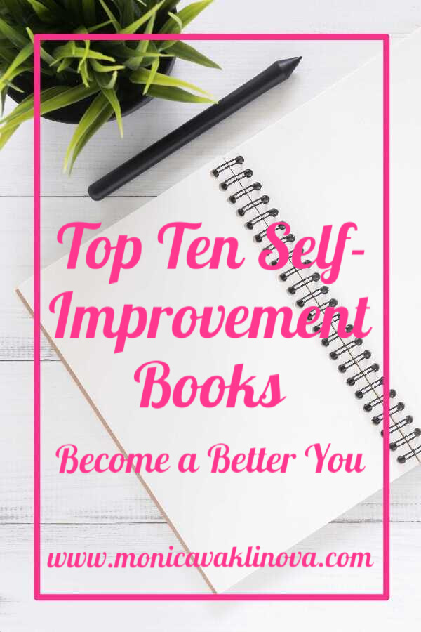 Top Ten Self-Improvement Books To Become A Better You