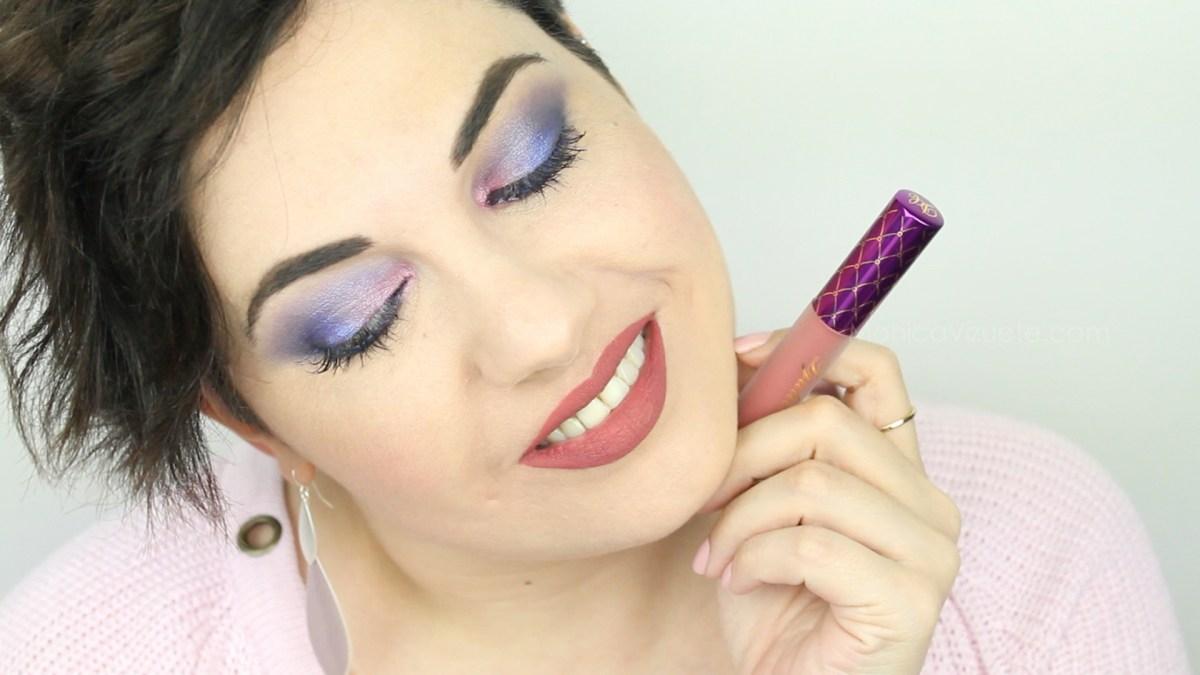 Swatches-djulicious-lipstick-dulcematte-monica-vizuete-sanoulicious