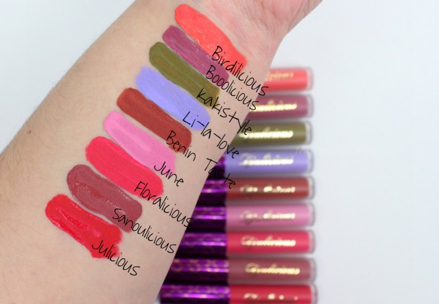 Swatches-djulicious-lipstick-dulcematte-monica-vizuete