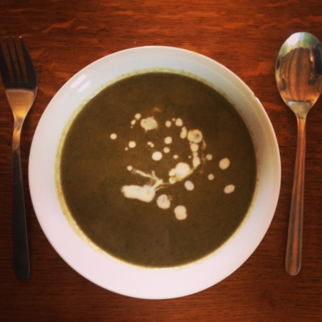 Nettle & Wild Garlic Soup