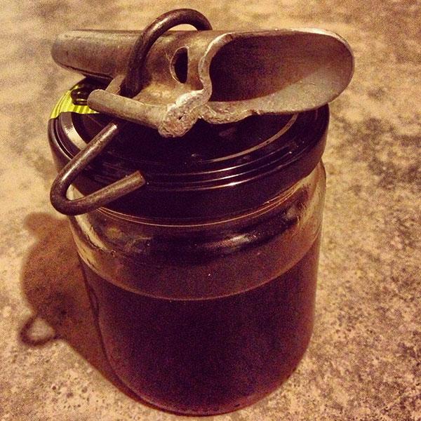 Birch sap syrup
