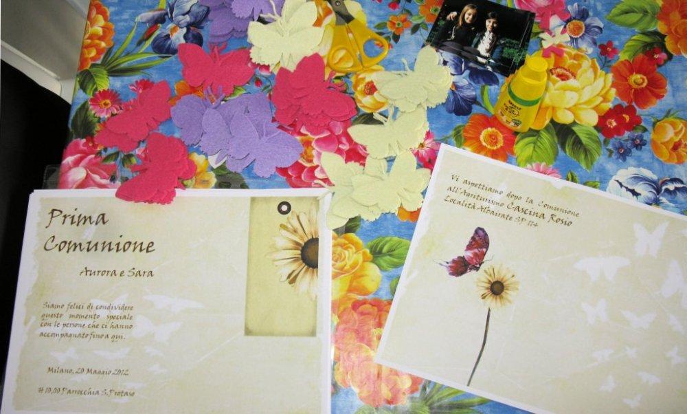 Inviti Prima Comunione Sara - First Communion Iivitations Sara (3/6)