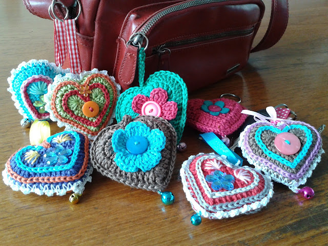 Portachiavi decora borsa - Keychain decorating bag (4/4)